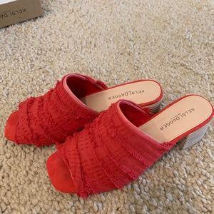 Kelsi dagger red sandals